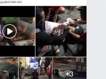 Geger di Facebook! Wanita Diduga Korban Penusukan, Videonya Sudah 39.996 Tayangan