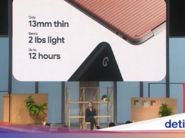 Google Luncurkan Pixelbook Go, Laptop Ringan dan Tipis