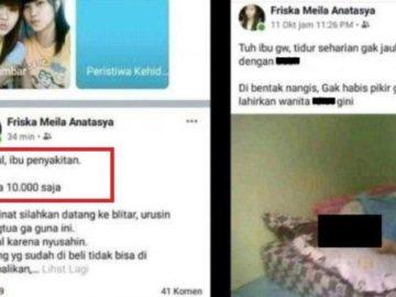 Polisi Ungkap Kebenaran Postingan Facebook Anak Jual Ibu Rp 10 Ribu yang Viral, Diduga Terjadi Sungguhan hingga Masih Incar Pemilik Akun yang Asli - Semua Halaman