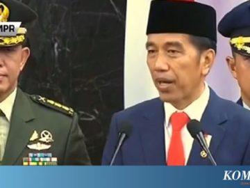 """Presiden Jokowi Singgung Laporan """"Sudah Terlaksana"""" dan WhatsApp"""