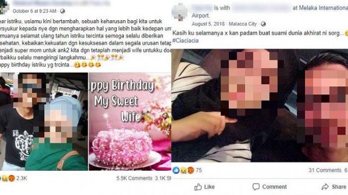 Romantis di Facebook, Foto & Tulis Kalimat Mesra, Wanita Ini Korban Pembunuhan Keji Suami Sendiri