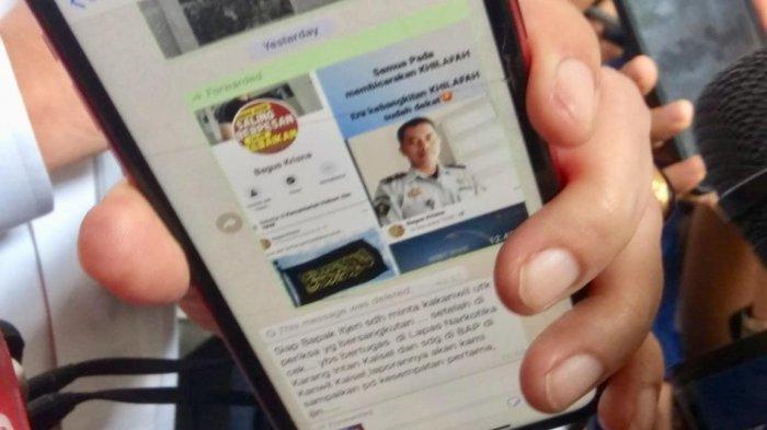 Seorang PNS Kemenkumham Diberhentikan Karena Tulis 'Era Kebangkitan Khilafah' di Facebook