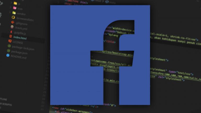 Facebook Pindah Ke Visual Studio Code Untuk Pengembangan Internalnya!