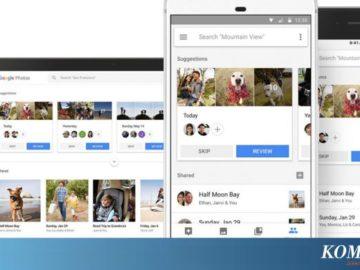 """Foto dari Google Photos Kini Bisa Dikirim lewat """"Chatting"""""""