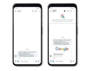 Google mengumumkan sejumlah fitur baru untuk menjaga pengguna dari SMS spam atau bot-SMS berbahaya.