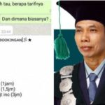 Isi Chat WhatsApp (WA) Berfoto Profil Rektor IAIN Surakarta Tanya Tarif Pijat Plus-plus Viral, Fake?