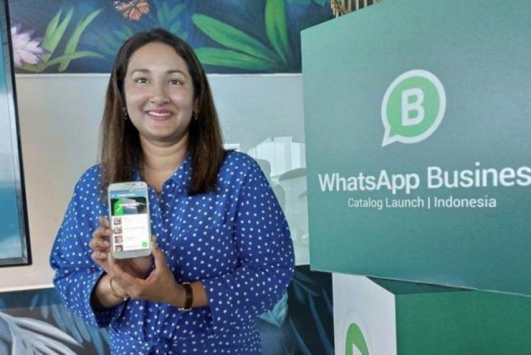 WhatsApp Latih Pebisnis Kecil Gunakan Fitur Katalog. (FOTO: Bernadinus Adi Pramudita)